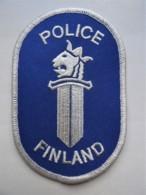 POLICE Patch Finland - Polizei