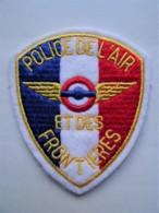 RARE POLICE Patch France Police De L'Air Et Des Frontieres - Polizei