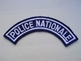 POLICE Patch France Police National - Polizei