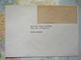 Paris 42  21/02/1974  0,50 FF - 1969 Montgeron – White Paper – Frama/Satas