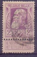 Belgique N° 80 Oblitéré - 1905 Grosse Barbe