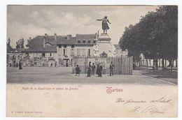 TARBES Place De La République Et Statue De Danton - Tarbes