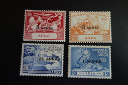 ADEN Série UPU ** MNH - Aden (1854-1963)