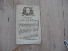 Receuil Chansons Nouvelles Trai Histi=orique Arrivé En Novembre 1812 Villeneuve Hérault 12 Pages - Documents Historiques