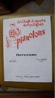 Mozart Berceuse - Pianotons, Les Chefs D'oeuvres Simplifiés/ Paul Beuscher - M-O