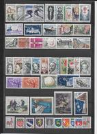 FRANCE - 1962 - ANNEE COMPLETE ** MNH - 49 TIMBRES - COTE = 58 EUR. - France