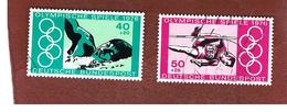 GERMANIA (GERMANY) - SG 1779.1780  - 1976 OLYMPIC GAMES (COMPLET SET OF 2)  -  USED - Usati