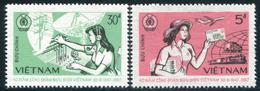 Vietnam 1987  YT 814-815 ; Mi# 1825-26  (*)  MNG - Vietnam