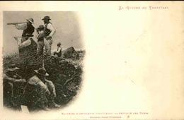 MILITARIA - Carte Postale - La Guerre Au Transvaal - Batterie D 'artillerie Protégeant La Retraite Des Boers - L 30315 - Andere Kriege