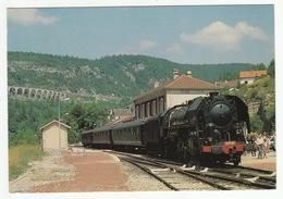 Gare De MOREZ - 141R568 De La CITEV - Tour Du Jura Par LEDO RAIL - Photo Kottmann - Morez