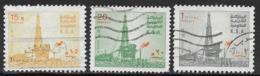 Saudi Arabia Scott # 887b,888a,892b Used Oil Rig, 1982-3 - Saudi Arabia
