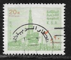 Saudi Arabia Scott # 888 Used Oil Rig, 1982 - Saudi Arabia