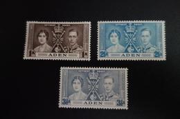Série Couronnement De GEORGES VI ** MNH - Aden (1854-1963)
