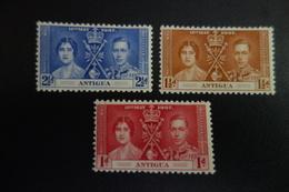 Série Couronnement De GEORGES VI ** MNH - Antigua & Barbuda (...-1981)
