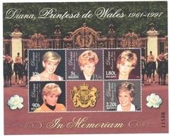 Moldova Lady Di Good Sheet Mnh ** 1998 - Familias Reales