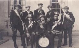 MILITARIA CARTE PHOTO ,,ORCHESTRE Classe 1925 - War 1914-18