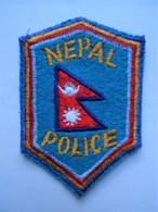 RARE POLICE Patch Nepal - Polizei