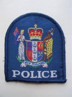 RARE POLICE Patch New Zealand Neuseeland - Polizei