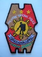 RARE POLICE Patch Philippines - Polizei