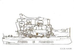 [MD3493] CPM - C.C.R. A.A.M. - MOSTRA DI MODELLISMO - NUMERATA 82/200 - Non Viaggiata - Militari