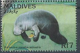 Maldives  -1996  - Fauna - Trichechus Manatus Latirostrisn- MNH. - Malediven (1965-...)