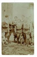 """Carte Photo - Groupe Zouaves """"Souvenir Campagne Russie, Crimée, Roumanie, Bulgarie  26 Mars, Au 1er Septembre 1919 - Guerres - Autres"""