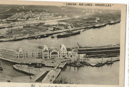 Oostende La Gare  / Station  SABENA Air Lines - Oostende