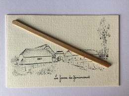 GENAPPE ,BAISY-THY«LA FERME DE GÉMIONCOURT»extrait Du Livre»Le Canton De Nivelles . - Genappe