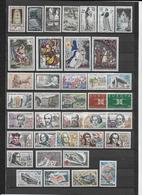 FRANCE - 1963 - ANNEE COMPLETE ** MNH - 38 TIMBRES - COTE = 37 EUR. - France