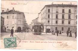 CPA ITALIE.BOLOGNA.VIA D'AZEGLIO - Italië