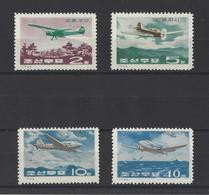 COREE DU NORD.  YT N° 697/700  Neuf **  1966 - Korea, North