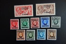 MOROCCO AGENCIES N° 22/35** MNH - Groot-Brittannië (oude Kolonies En Protectoraten)