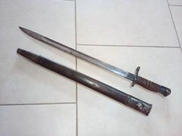 US 17  BAÏONNETTE  Avec Son  FOURREAU - Knives/Swords