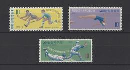 COREE DU SUD.  YT N° 607/609  Neuf **  1970 - Corée Du Sud
