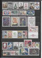 FRANCE - 1964 - ANNEE COMPLETE ** MNH - 31 TIMBRES - COTE = 49 EUR. - France