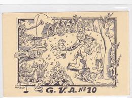 Cpa-militaria-illustrateur E . Noack-chiens De Guerre-G.V.A. ( Groupe Veterinaire Des Armées ) N°10-edi Caparu - Régiments