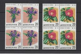 COREE DU SUD.  YT N° 884/885  Neuf **  1975 - Corée Du Sud
