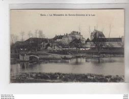 Le Monastère De SAINTE COLOMBE Et Le Lac - Sens - Très Bon état - Autres Communes