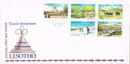32949. Carta F.D.C.  MASERU (Lesotho) 1970. Tourist Attactions - Lesotho (1966-...)