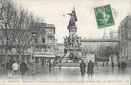 Avignon - Monument Du Centenaire De L'annexion Du Comtat-Venaissin à La France, Place De L'Hôtel De Ville - Avignon