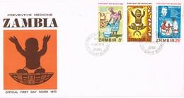 32950. Carta F.D.C.  NDOLA (Zambia) 1970. Preventive Medicine. Medicina Preventiva, Salud - Zambia (1965-...)
