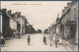 Culan , La Route De Saint Amand , Animée - Culan