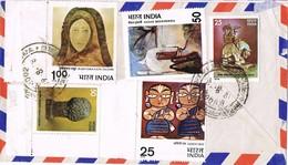 32952. Carta Aerea MADRAS (India) 1978 To London - India