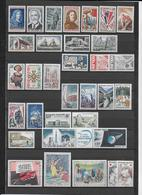 FRANCE - 1965 - ANNEE COMPLETE ** MNH - 33 TIMBRES - COTE = 23 EUR. - France