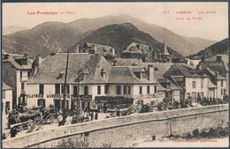 Arreau ; Les Quais , Jour De Foire , Claverie Aubergiste , Animée - France