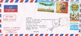 32953. Carta Aerea LAHORE (Pakistan) 1981. Stamp Islamic Conference - Pakistán