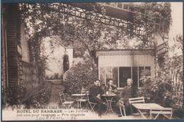 Sourpeuil , L'isle Jourdain , Hotel Du Barrage , Les Jardins , Animée - Other Municipalities