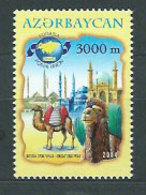 Azerbaijan - Correo Yvert 501 ** Mnh Ruta De La Seda - Azerbaiján