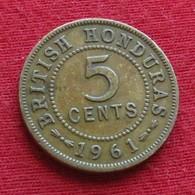 British Honduras 5 Cents 1961 KM# 31 - Belize