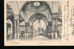 Allemagne -- Stuttgart -- Bahnhof - Stuttgart